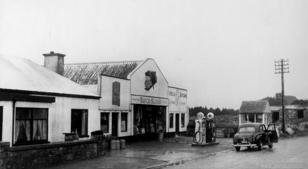 Standun's shop front in the 1940s